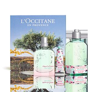 Coffret Parfum Fleurs de Cerisier Eau Fraîche