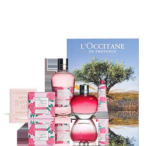 Coffret Parfum Pivoine Flora | Parfum femme| Cadeau