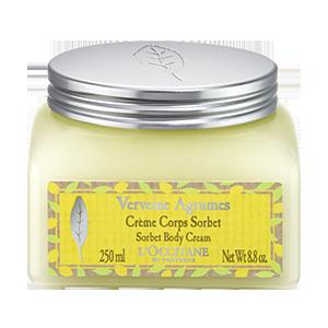 Crème Sorbet Verveine Agrumes