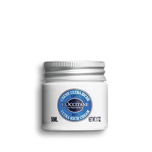 Enrichie en 25% de beurre de karité, cette crème protège la peau de la sècheresse et la nourrit intensément pour une hydratation jusqu'à 72 heures.