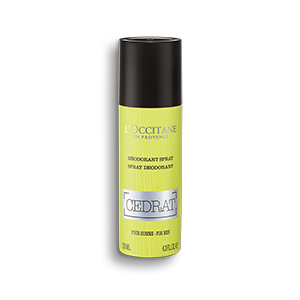 Déodorant Spray Cédrat