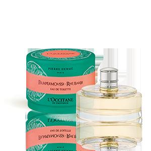 Eau de Toilette Pamplemousse Rhubarbe | Parfum Femme
