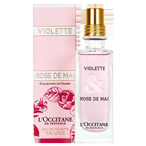 Eau de Toilette Violette & Rose de Mai