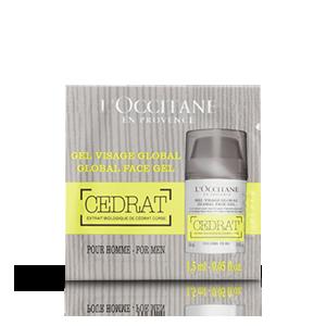 Echantillon Gel hydratant Cedrat