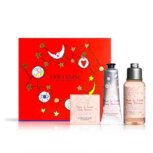 Mini Coffret Cadeau Fleurs de Cerisier Noël | L'OCCITANE
