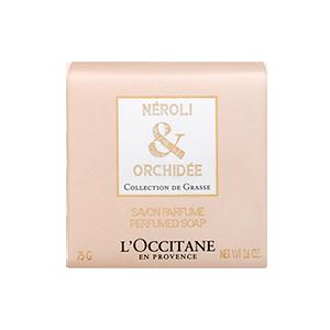 Savon parfumé Néroli & Orchidée