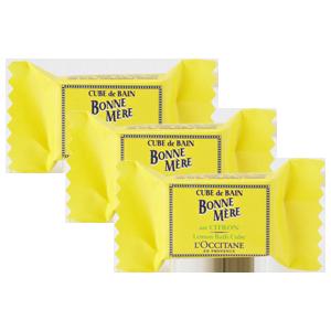 Trio Cubes de Bain Citron
