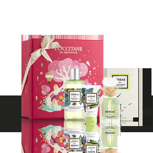 Coffret Cadeau Corps et Parfum Herbae par L'OCCITANE