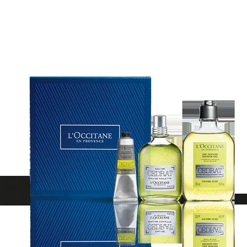 Coffret Cadeau Parfum Cédrat