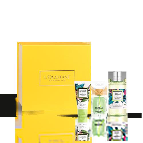 Coffret Cadeau Parfum Herbae par L'OCCITANE