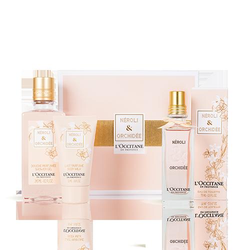Coffret Parfum Néroli & Orchidée