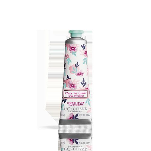 Crème Mains Eau Fraîche Fleurs de Cerisier 30 ml