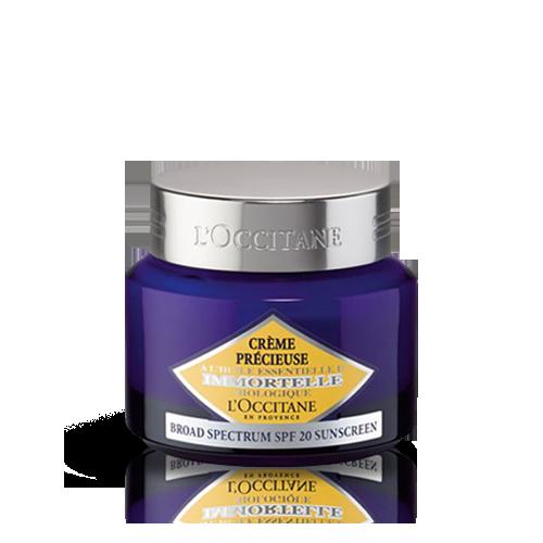 Crème Précieuse Immortelle Texture Légère SPF 20 50 ml