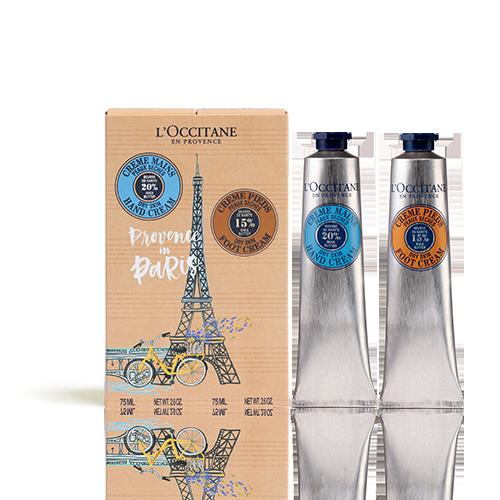 Duo Crème Mains et Crème Pieds Provence in Paris