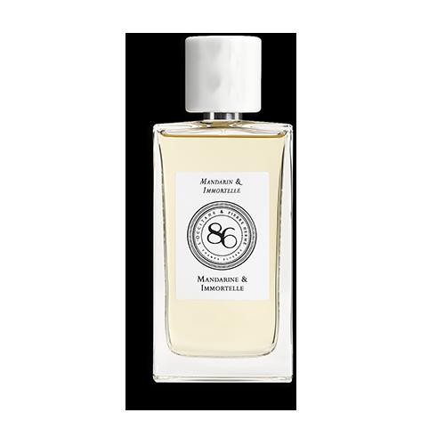 Collection de Parfums 86 Champs – Mandarine et Immortelle