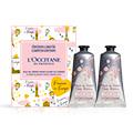 Duo de Crèmes Mains Fleurs de Cerisier Provence in Europe 75ml x 2