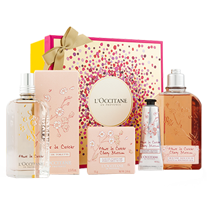 coffret cadeau parfum fleur de cerisier l 39 occitane. Black Bedroom Furniture Sets. Home Design Ideas