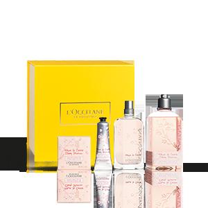 Coffret Cadeau Parfum Feuille de Cerisier