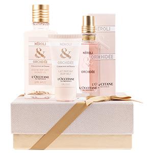 Coffret Cadeau Parfum Néroli Orchidée
