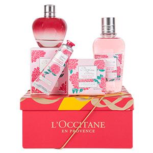 Coffret Cadeau Parfum Pivoine Flora