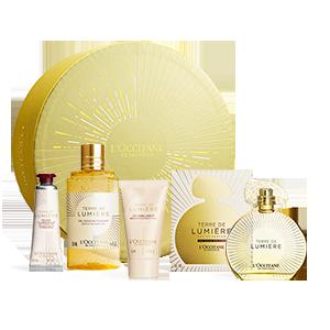 Coffret Cadeau Parfum Terre de Lumière Edition Or 90 ml