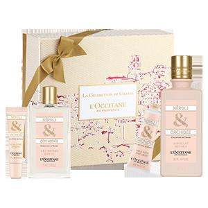 Coffret Cadeau Soin Corps Néroli & Orchidée