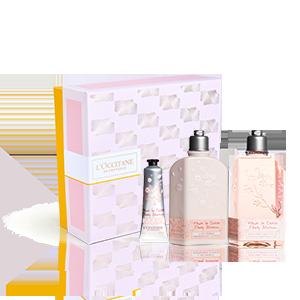 Coffret Corps Fleurs de Cerisier | Soins pour le corps parfumés