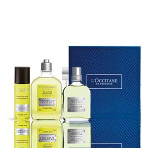 Coffret Parfum Cédrat | Parfum homme et soins corps