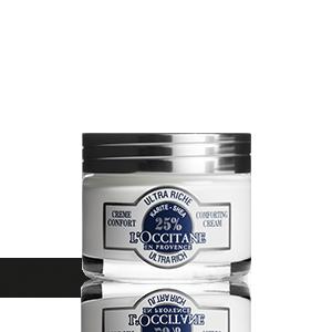L'Occitane - Crème Hydratante Confort Ultra Riche Karité pour Peaux Sèches & Sensibles