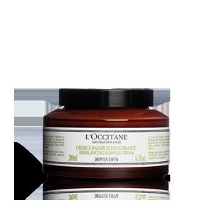 L'Occitane - Produits de Soin Naturels - Crème de Massage Rééquilibrante