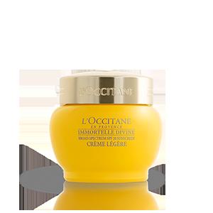 Crème Divine Immortelle Texture Légère SPF 20 | Crème de jour