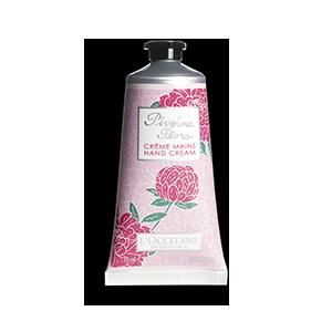 Crème Mains Pivoine Flora | Crème pour les mains parfumée
