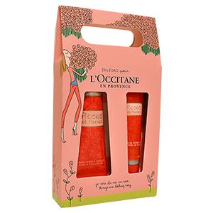 Duo Crème Mains et Baume Lèvres Rose Collector