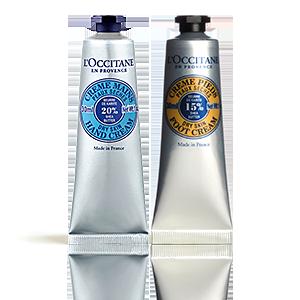 Duo Crème Mains & Pieds Karité
