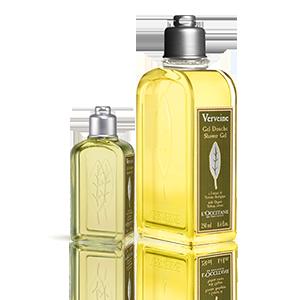 Duo pour la douche Verveine   Gel douche & format voyage