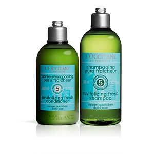 Duo Shampooing et Après-Shampooing Fraîcheur