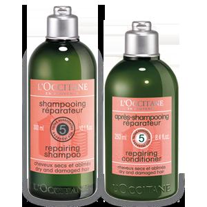 Duo Shampooing Réparateur et son Après-shampoing Aromachologie