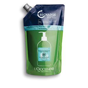 Eco-recharge Après-Shampooing Pure Fraîcheur | L'OCCITANE