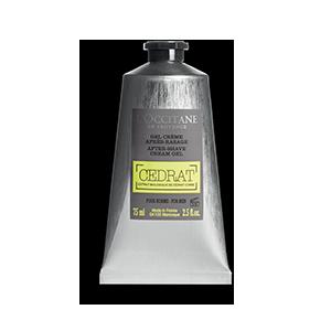 Gel Crème Après Rasage Cédrat | Hydrate, matifie et énergise la peau