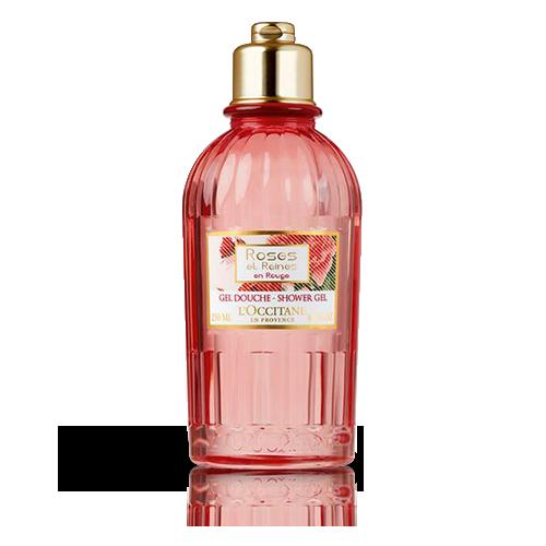 Gel Douche Roses et Reines en Rouge | Mousse nettoyante