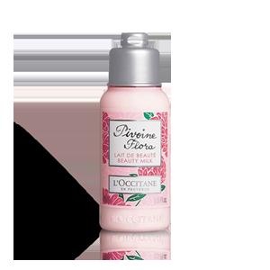Lait de Beauté Pivoine Flora | Soin hydratant corps | Format voyage