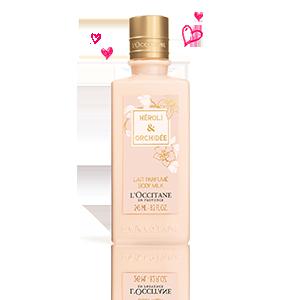Lait Parfumé Néroli & Orchidée
