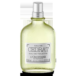 L'Occitane - Produits de Soin Naturels - Eau de Toilette Cédrat 100ml