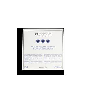 L'Occitane - Produits de Soin Naturels - Sachets Parfumés Relaxants