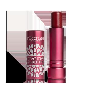 Soin des Lèvres Pivoine Rose Prune | Baume à lèvres