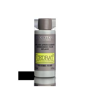 Splash Après Rasage Cédrat | Tonifie et hydrate