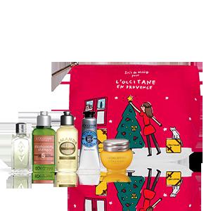Trousse beauté Noël en Provence