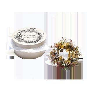 Votre Couronne fleurie par Marie Starck