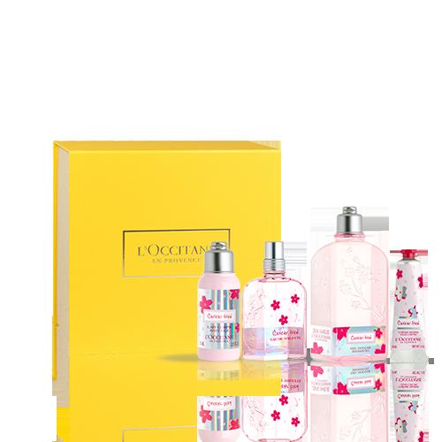 Coffret Cadeau Eau de Toilette Fleur de Cerisier Irisé