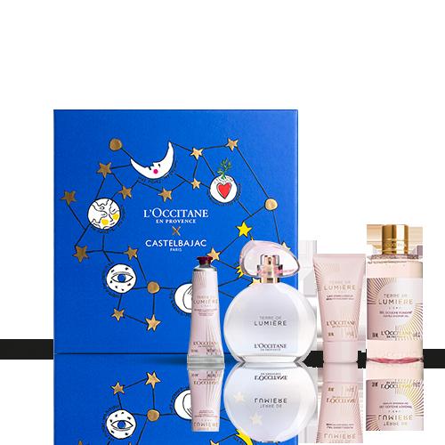Coffret Cadeau Parfum floral Terre de Lumière L'Eau